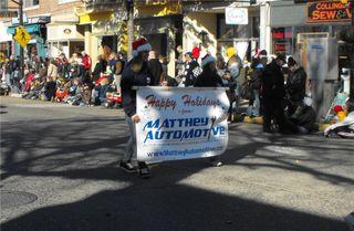 Matthey marchers